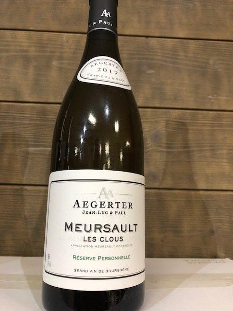 Aegerter Meursault Les Clous